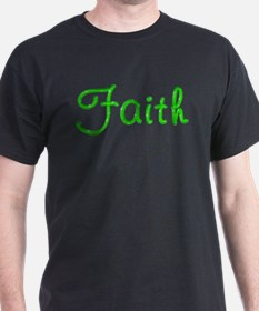 Faith Glitter Gel T-Shirt