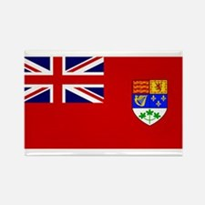 Flag of Canada 1921 - 1957 Rectangle Magnet (100 p