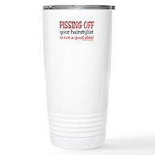 Cute Barber school Travel Mug