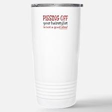 Barber school Travel Mug