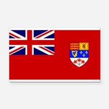 Flag of Canada 1957 - 1965 Rectangle Car Magnet