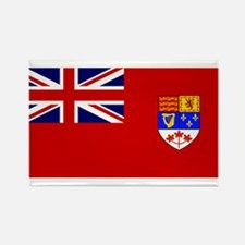Flag of Canada 1957 - 1965 Rectangle Magnet