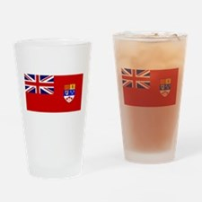 Flag of Canada 1957 - 1965 Drinking Glass