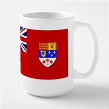 Flag of Canada 1957 - 1965 Large Mug