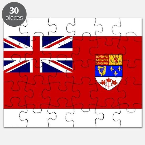 Flag of Canada 1957 - 1965 Puzzle