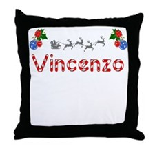 Vincenzo, Christmas Throw Pillow
