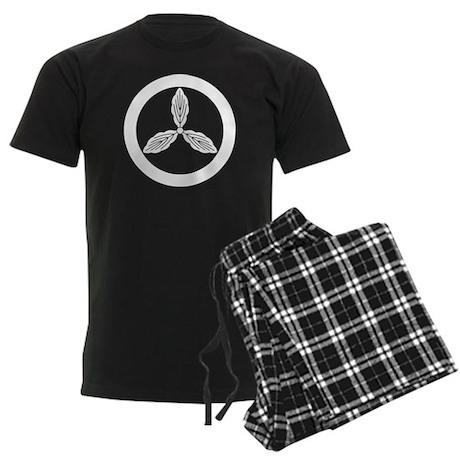 Tosa oak in circle Men's Dark Pajamas
