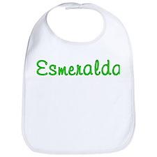 Esmeralda Glitter Gel Bib