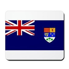 Flag of Royal Canadian Navy 1921-1957 Mousepad