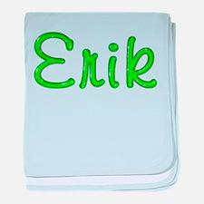 Erik Glitter Gel baby blanket