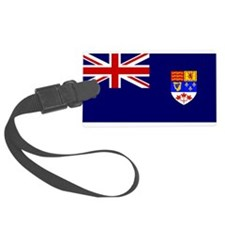Flag of Royal Canadian Navy 1957 - 1965 Luggage Tag