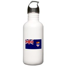 Flag of Royal Canadian Navy 1957 - 1965 Sports Water Bottle