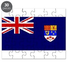 Flag of Royal Canadian Navy 1957 - 1965 Puzzle