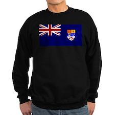 Flag of Royal Canadian Navy 1957 - 1965 Sweatshirt
