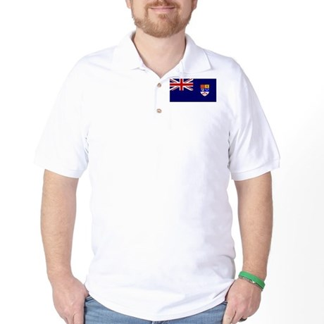 Flag of Royal Canadian Navy 1957 - 1965 Golf Shirt