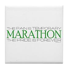 Marathon - Pride is Forever Tile Coaster