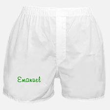 Emanuel Glitter Gel Boxer Shorts