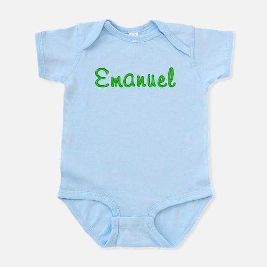 Emanuel Glitter Gel Infant Bodysuit