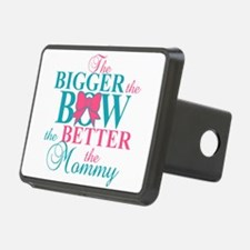 Bigger the bow better mommy Hitch Cover