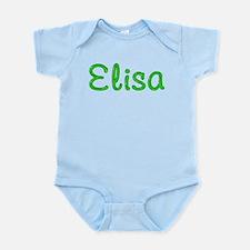 Elisa Glitter Gel Infant Bodysuit
