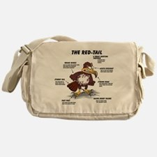 The Red-Tail.png Messenger Bag