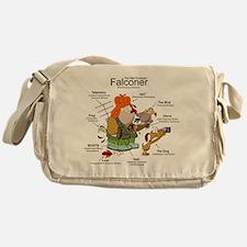 The Falconer.png Messenger Bag