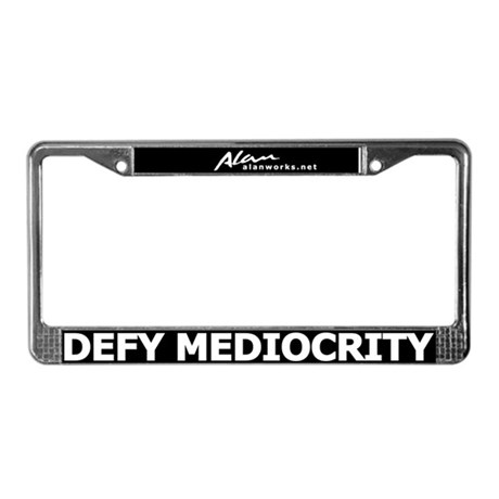 Alanworks Collection License Plate Frame