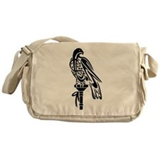 2-Falcon on Block.png Messenger Bag