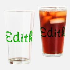 Edith Glitter Gel Drinking Glass