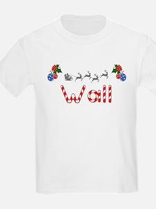 Wall, Christmas T-Shirt