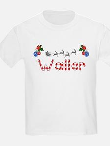 Waller, Christmas T-Shirt