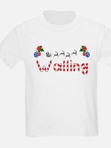 Walling, Christmas T-Shirt