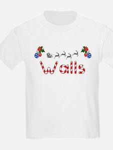 Walls, Christmas T-Shirt