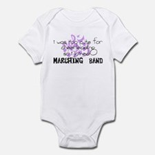 Marching Band - Too Cute for Cheerleading Infant B