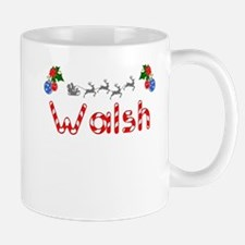 Walsh, Christmas Mug