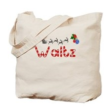 Waltz, Christmas Tote Bag