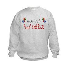 Waltz, Christmas Sweatshirt