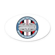 Afghanistan CAB Oval Car Magnet