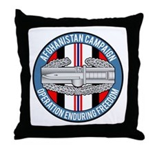 Afghanistan CAB Throw Pillow