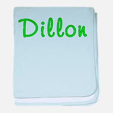 Dillon Glitter Gel baby blanket