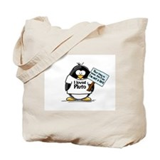 Pluto Penguin Tote Bag
