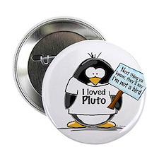 "Pluto Penguin 2.25"" Button (10 pack)"