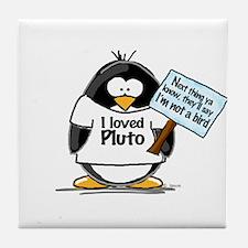 Pluto Penguin Tile Coaster