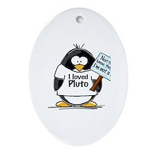 Pluto Penguin Oval Ornament