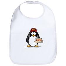 Pizza Penguin Bib