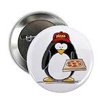 Pizza Penguin Button