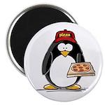 Pizza Penguin Magnet
