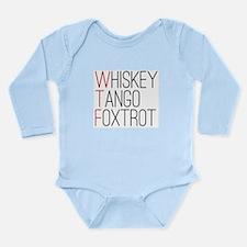 'WTF' Long Sleeve Infant Bodysuit