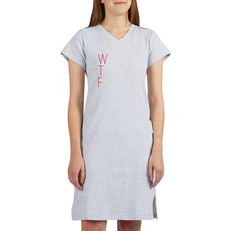 'WTF' Women's Nightshirt