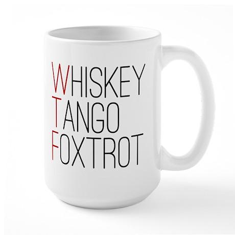 'WTF' Large Mug